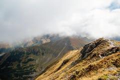 Volovec peak, Tatra mountains Stock Image