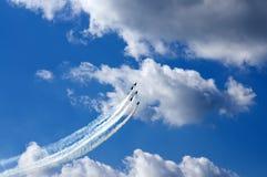 Vols acrobatiques Photos stock