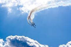 Vols acrobatiques Photographie stock
