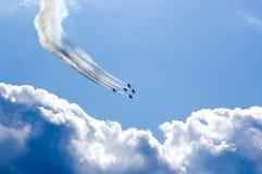 Vols acrobatiques Photographie stock libre de droits
