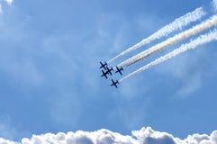 Vols acrobatiques Images stock