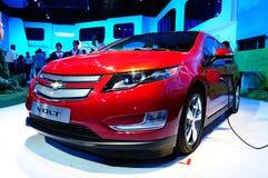 Volt de Chevrolet, véhicule de pouvoir électronique Photo stock