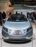 Volt de Chevy au Salon de l'Automobile international de Genève images libres de droits