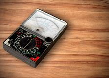Volt meter Royalty Free Stock Photo