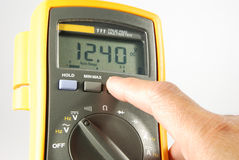 Volt meter1 Stock Photography