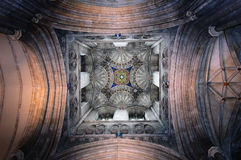 Volta del ventilatore della torretta della Bell Harry fotografie stock libere da diritti