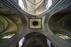 Volta della cattedrale di Caen Fotografia Stock Libera da Diritti
