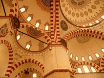 Volta della moschea di Bayezid II Fotografia Stock Libera da Diritti