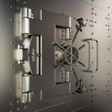 Volta di banca chiusa illustrazione di stock