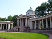 Volta di sepoltura del principe Yussupov in Arkhangelskoye Immagine Stock