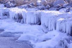 Volta do gelo Foto de Stock