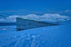 Volta globale del seme - le Svalbard, Norvegia Immagini Stock Libere da Diritti