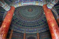 Volta imperiale all'interno del tempiale Pechino fotografie stock libere da diritti
