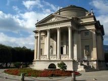 Volta-Tempel, Como, Italien Lizenzfreies Stockfoto