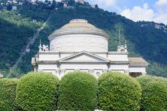 Volta Temple in Como, Italy Royalty Free Stock Photo