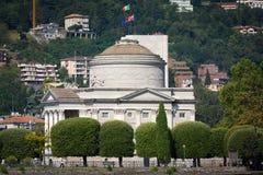 Volta Temple in Como, Italy Stock Image