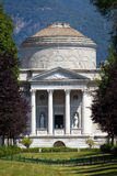 Volta Temple in Como, Italy Royalty Free Stock Photography