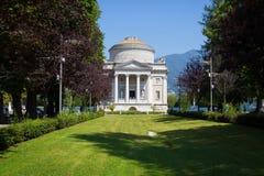 Volta Temple in Como, Italy Royalty Free Stock Image