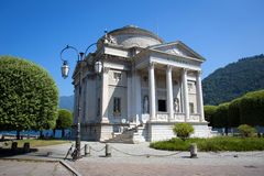 Volta Temple in Como, Italy Royalty Free Stock Images