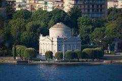 Volta Temple in Como, Italy Royalty Free Stock Photography