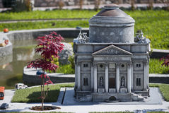 Volta Temple in mini Italy park Stock Photography