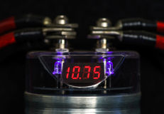 Voltage indicator Royalty Free Stock Images