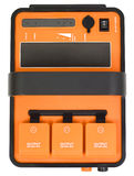 Voltage inverter for studio flash royalty free stock image