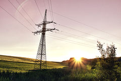 Voltage landscape Royalty Free Stock Photo