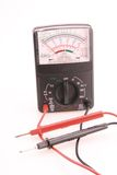 Voltage Meter Stock Photo