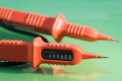 Voltage tester Royalty Free Stock Image