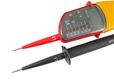 The Voltage tester Royalty Free Stock Photo