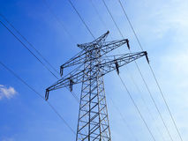 Voltage tower 2 Royalty Free Stock Images