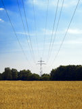 Voltage tower 3 Stock Image