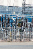 Voltage transformers. Royalty Free Stock Photo