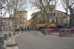 Voltaire придает квадратную форму - Arles - Camargue - Франция стоковые фотографии rf