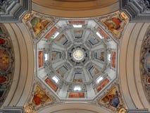 Volte della cattedrale di Salisburgo Fotografia Stock