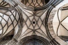 Volte della cattedrale di St Stephen a Vienna Immagini Stock Libere da Diritti