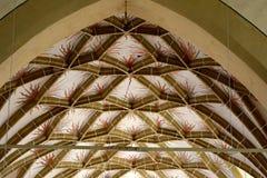 Volte della chiesa fortificata Biertan, la Transilvania del sassone Immagine Stock Libera da Diritti
