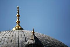 Volte della moschea Fotografia Stock