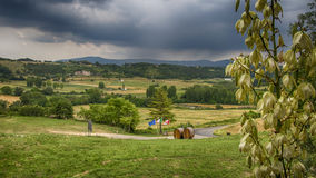 Voltera Italy Toscany beautiful place Stock Images