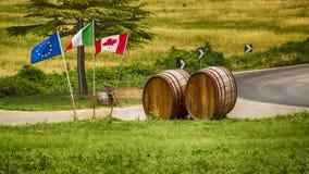 Voltera Italy Toscany beautiful place Royalty Free Stock Photo