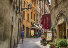 Voltera Italy Toscany beautiful place. Voltera is the beautiful town in toscany near san-gimignano highly recommended stock photo