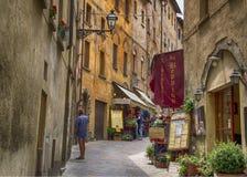 Voltera Italy Toscany beautiful place Stock Photo