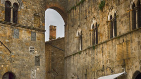 Voltera Italy Toscany beautiful place. Voltera is the beautiful town in toscany near san-gimignano highly recommended stock photos