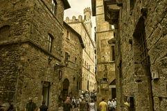 Voltera Tuscany Italy City. Voltera Tuscany Landscape June Golden Ancient city royalty free stock photos
