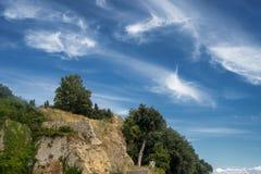 Volterra, Тоскана, исторический город Стоковая Фотография RF