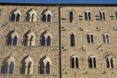 Volterra, Тоскана, исторический город Стоковое Изображение RF