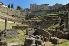 Volterra-Amphitheatre Royalty Free Stock Photo