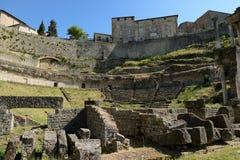 Volterra-Amphitheatre Royalty Free Stock Image