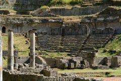 Volterra-Amphitheatre Royalty Free Stock Images
